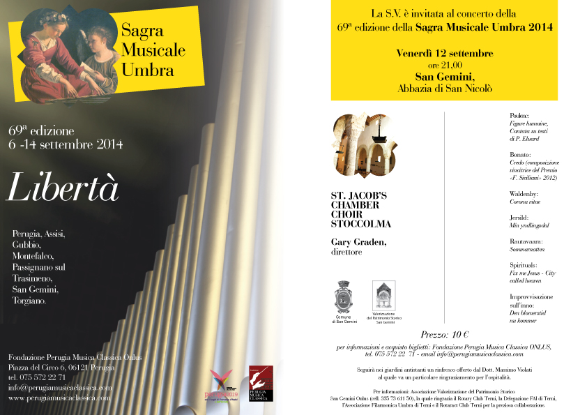 San Gemini Sagra Musicale