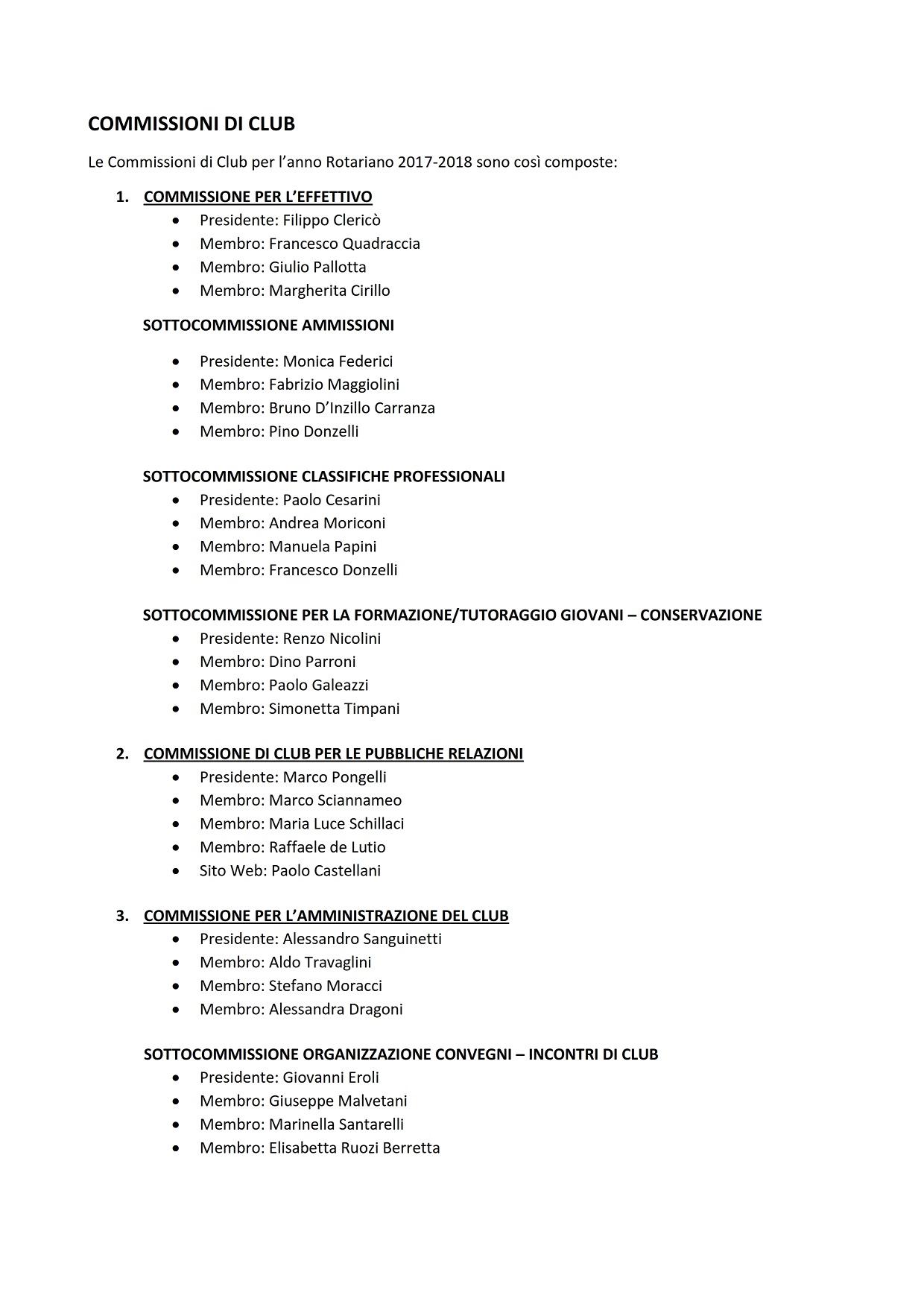 COMMISSIONI DI CLUB A.R. 2017-18_001