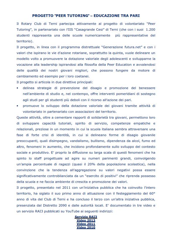 Progetto Peer Tutoring_001