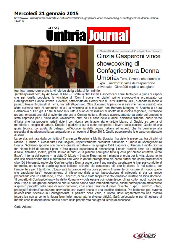 21 gennaio - showcooking confagricoltura donna - umbriajournal_001