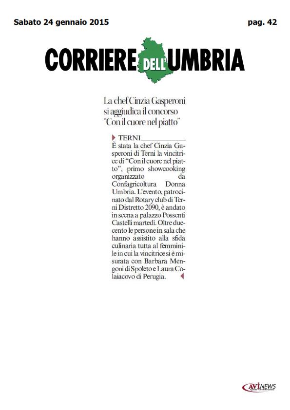 24 gennaio - showcooking confagricoltura donna - corriere_001