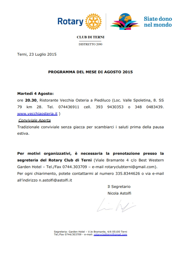 Rotary Club Terni - Programma Agosto 2015_001
