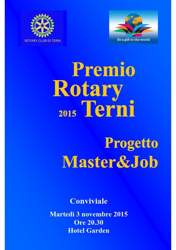 Premio Rotary  - Master & Job_001