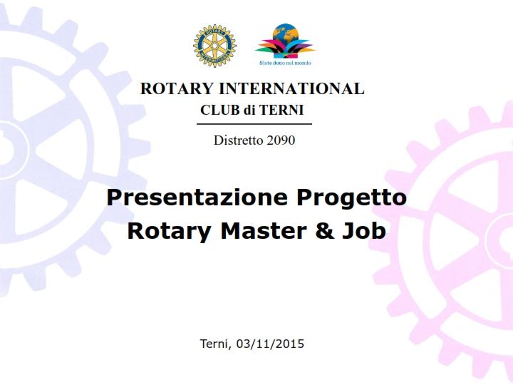 Presentazione Progetto Rotary Master & Job_001