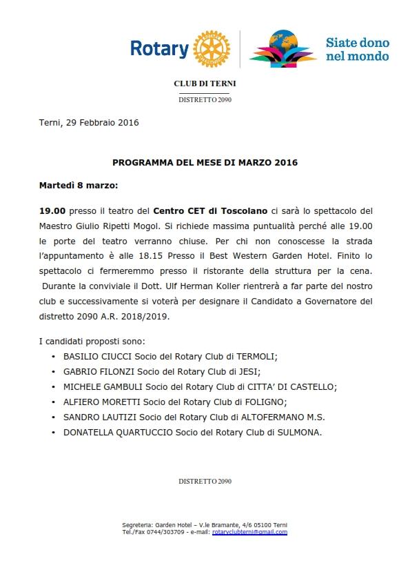 Programma di Marzo 2016_001