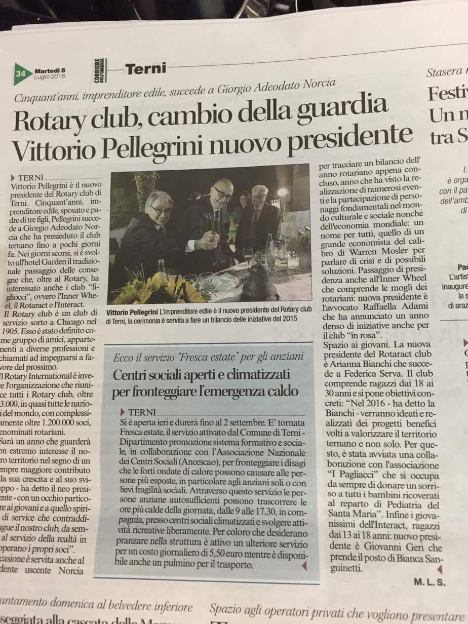 ARTICOLO PASSAGGIO DELLE CONSEGNE