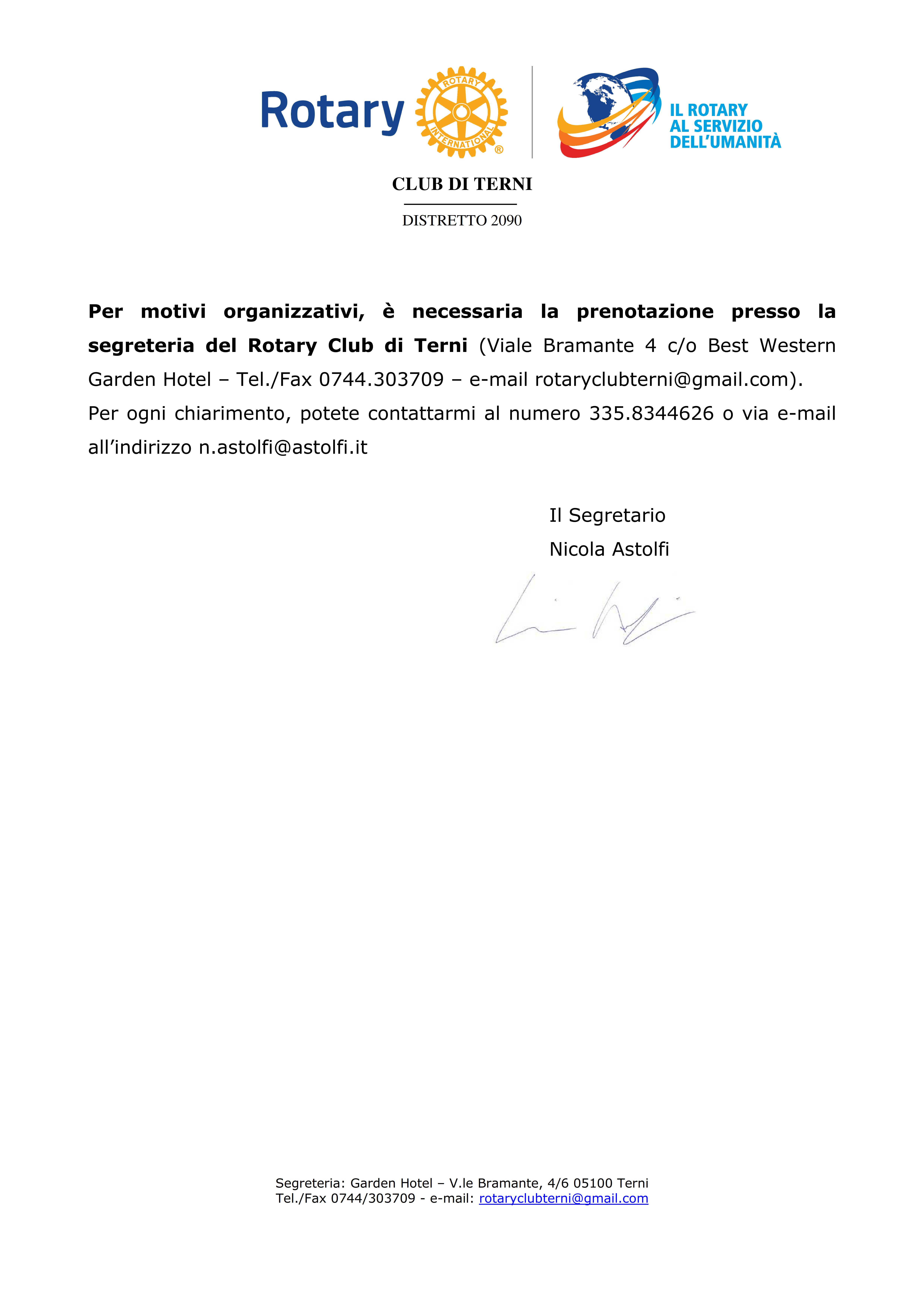 Rotary Club Terni - Programma Settembre 2016_002