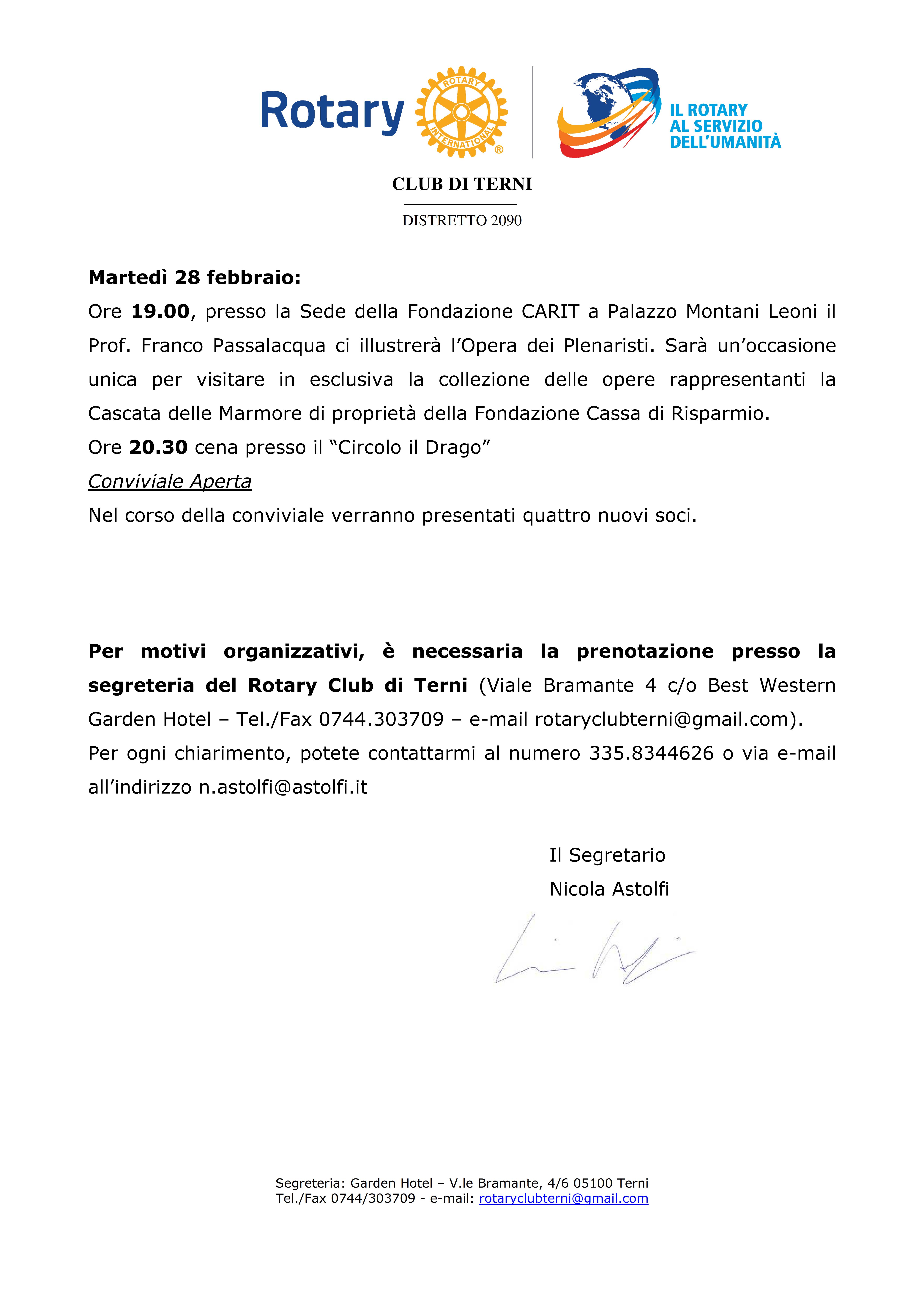 Rotary Club Terni <a href=