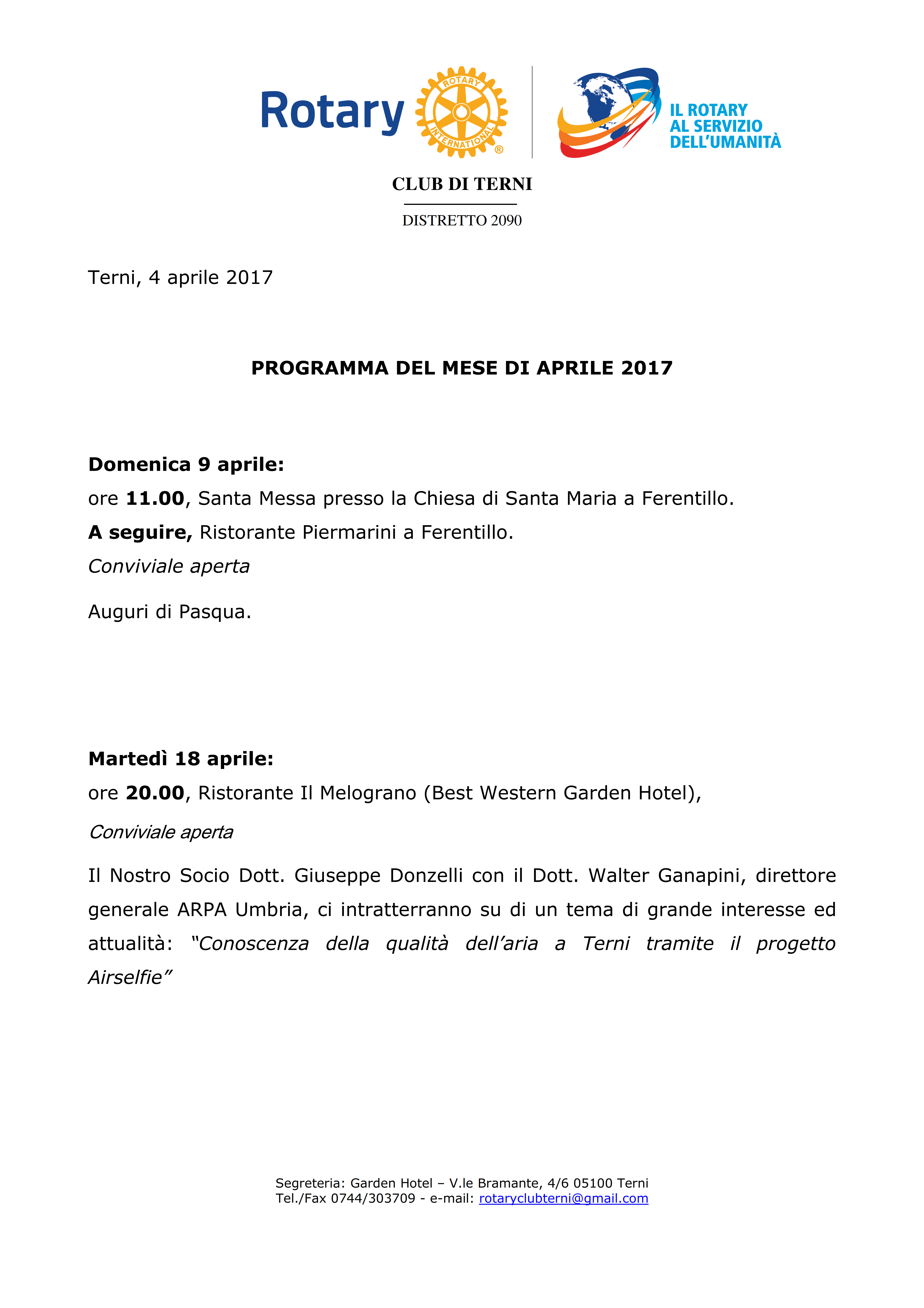 Rotary Club Terni - Programma Aprile 2017_001