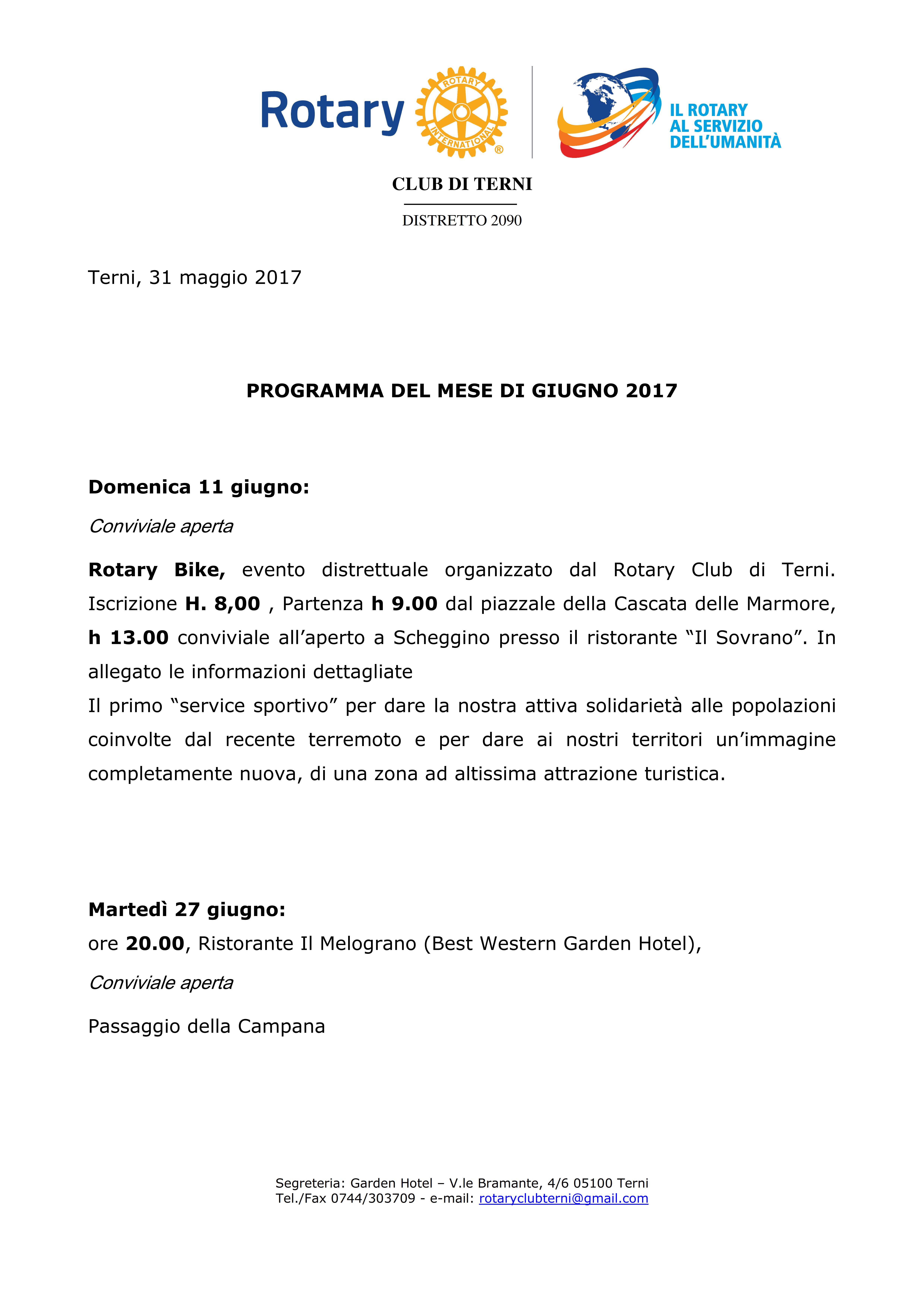 Rotary Club Terni - programma Giugno 2017_001