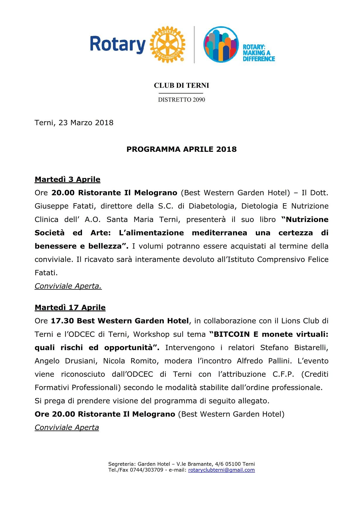 Programma Aprile 2018_001