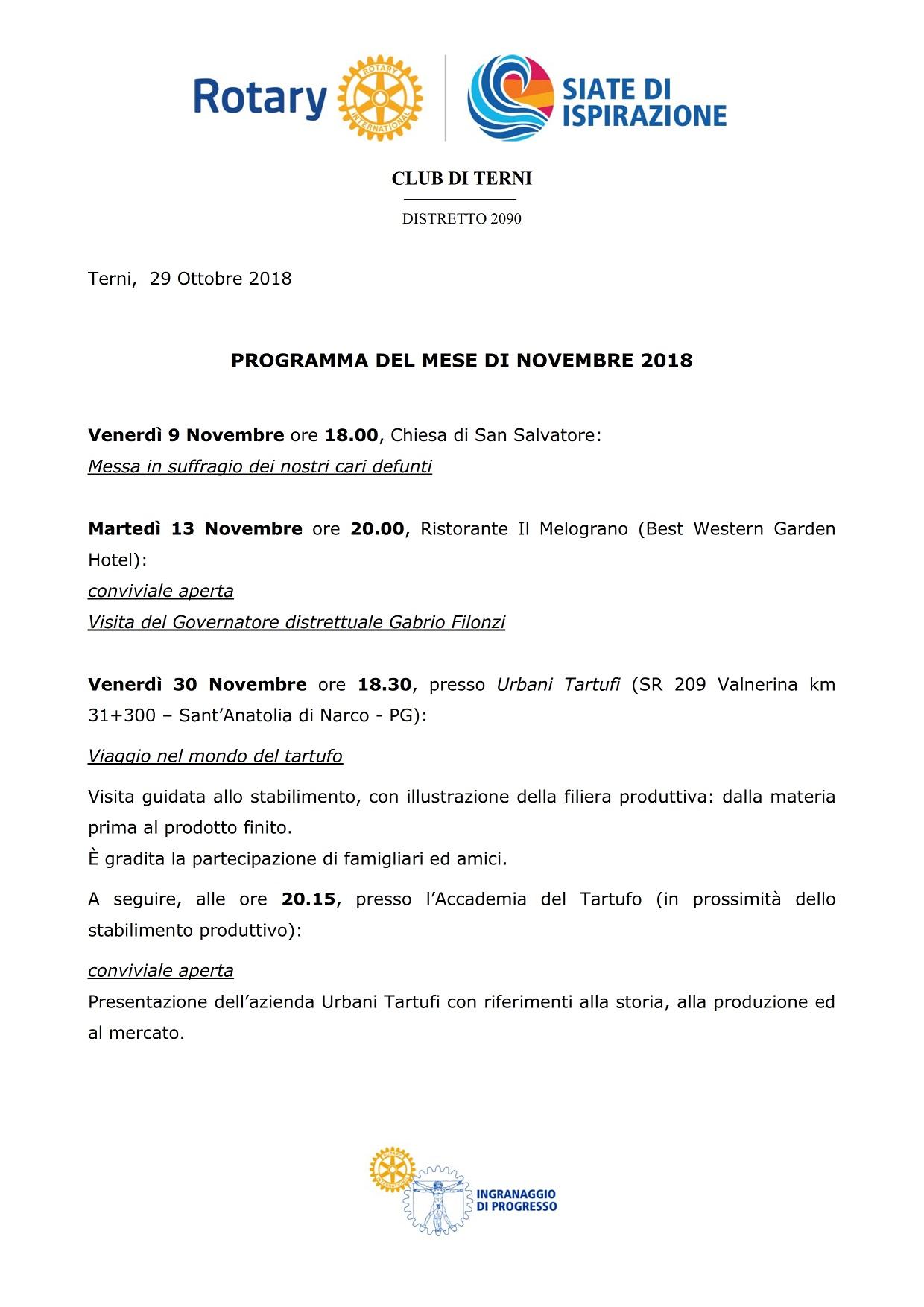 2018_11-RC Terni-Programma Novembre 2018_001